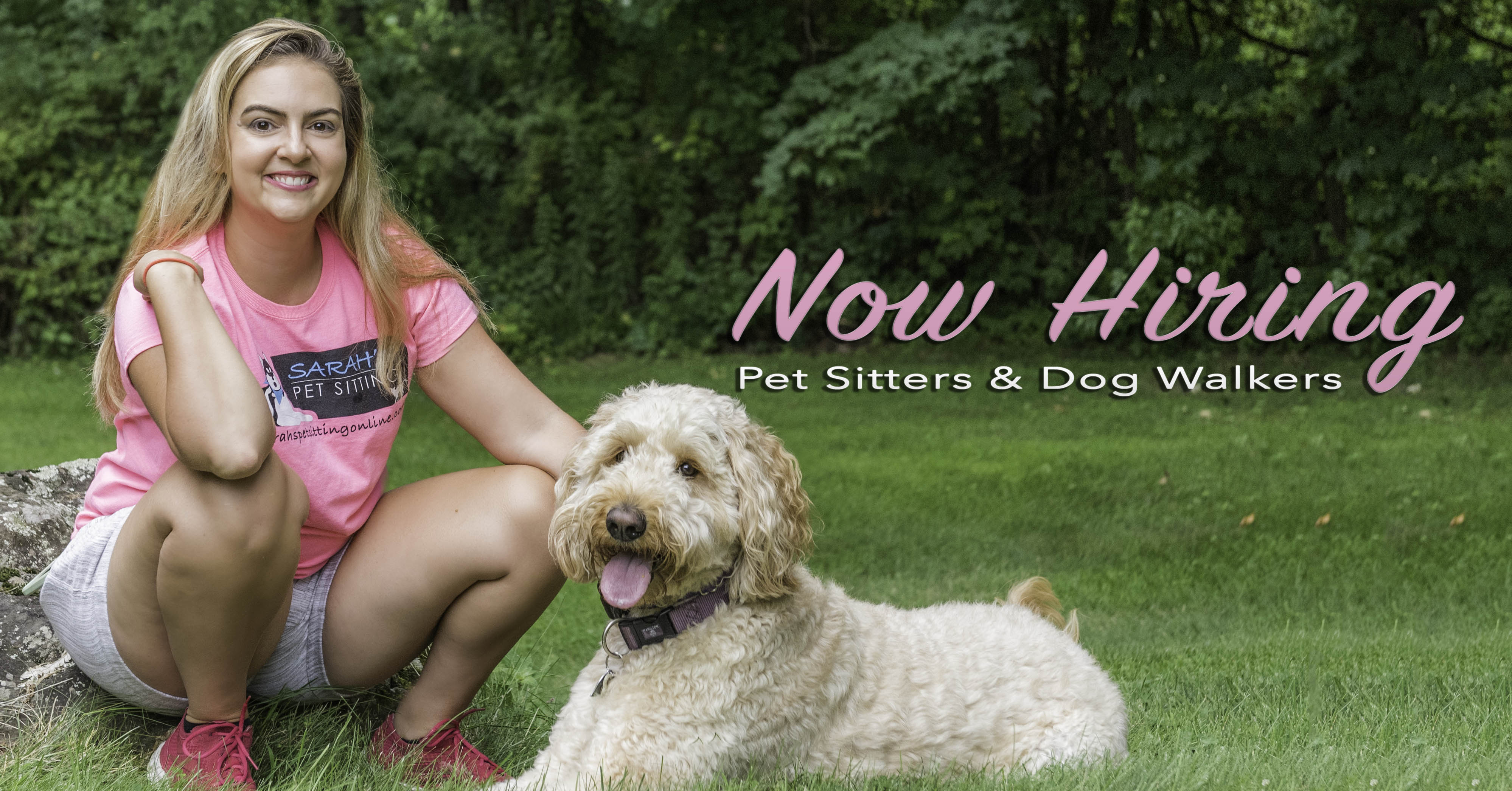Now Hiring Apply Online To Become A Pet Sitter For Sarah